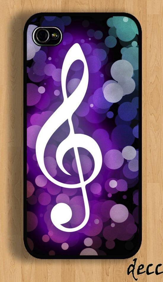 IPhone Case IPHONE 5 CASE G-Clef Music Lyrics Note IPhone 4 Case IPhone 4S