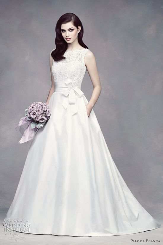 paloma blanca wedding dresses fall 2012 pocket