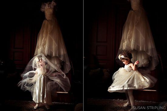 wedding - flower girl by @Susan Stripling