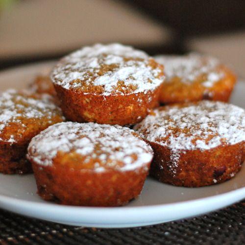 Pomegranate Orange Muffins Recipe