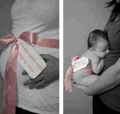 Cute baby photo idea
