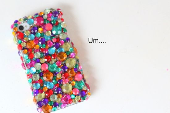 Bling cell phone case