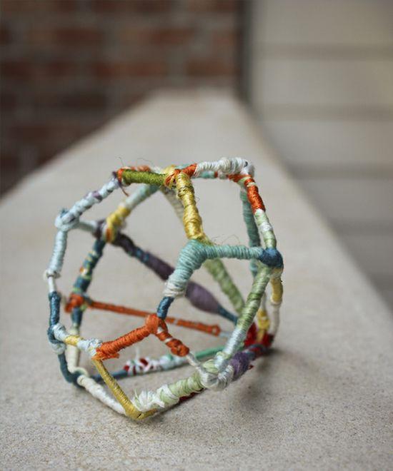 DIY: wire diamond