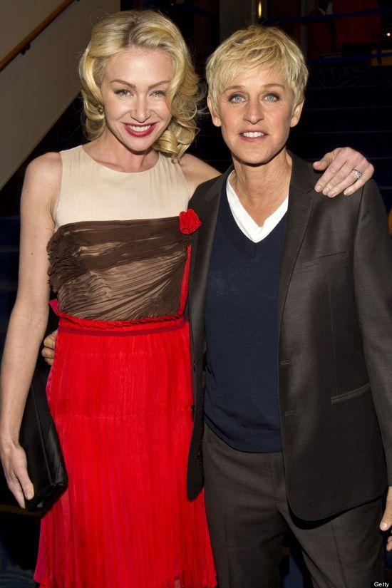 Portia de Rossi & Ellen DeGeneres...Celebrity Couples