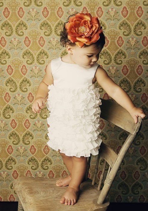 Great flower girl dress!