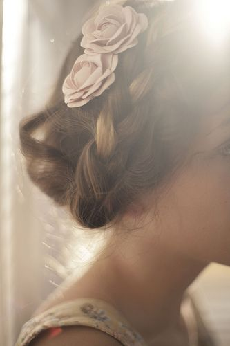 braids and rosettes #hair