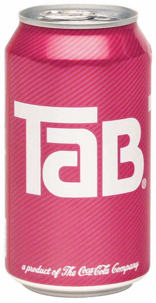 Growing up in the 80's was the best....The Smurfs on Sat. morning, The Love Boat on Sat. night, Rubix cube, Pac Man...and of course TAB COLA!!!!