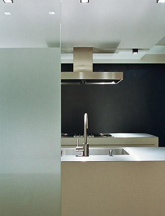 Kitchen interior by architect Pedro Verhue _
