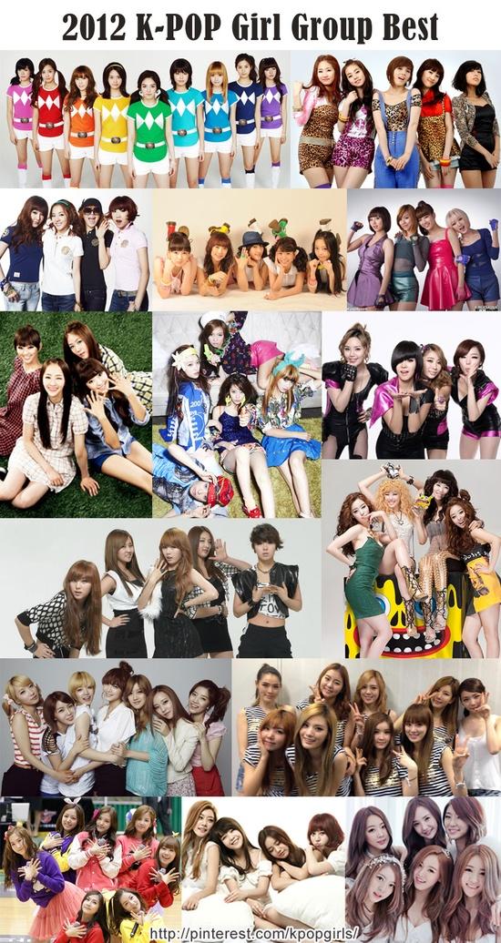 K-POP Girl Group Best 2012 /   SNSD, Wonder Girls, 2NE1, Kara, MissA, Sistar, Fx, Brown Eyed Girls, 4Minute, Secret, Rainbow, After School, Apink, Girl's Day, Dalshabet