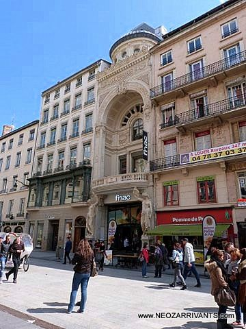 Lyon, rue de la république