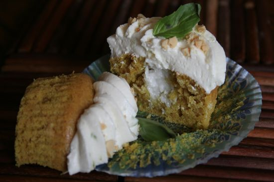 Coconut Curry Cupcakes