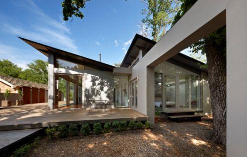 spine structure modern house design ideas