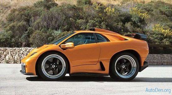 Smart Car Designs of Sports Cars - Lamborghini #tiny #cars