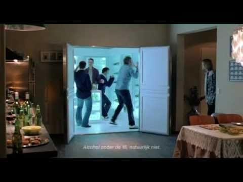 "Funny TV Commercial - ""Walk In Closet"" (Dutch, 2010) #videos #ads #commercials"