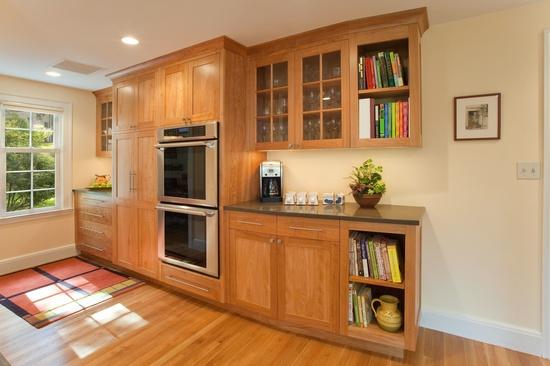 A Kitchen in Red Birch