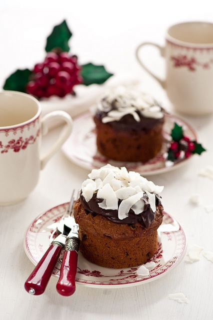 So sweet in many delicious ways! :) Christmas Chocolate Muffins. #dessert #muffins #chocolate #food #Christmas #cupcakes