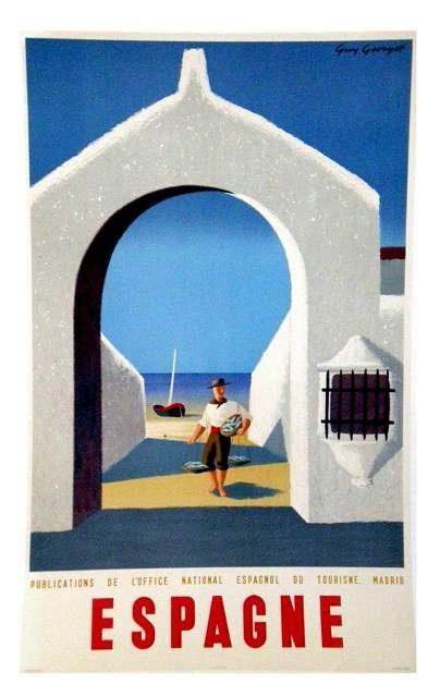 Espagne #vintage #travel #poster #spain