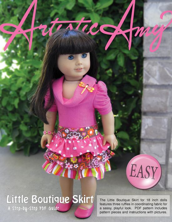 American Girl Free Sewing Patterns