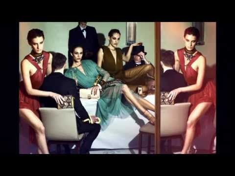 Lanvin's spring 2012 campaign featuring snakes... ew