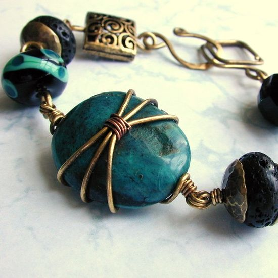 neat wire wrapping