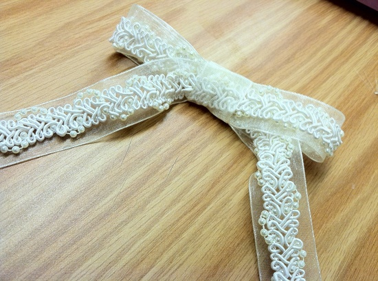 Handmade bow!
