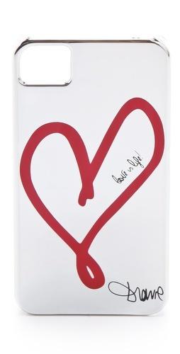 single heart iphone case