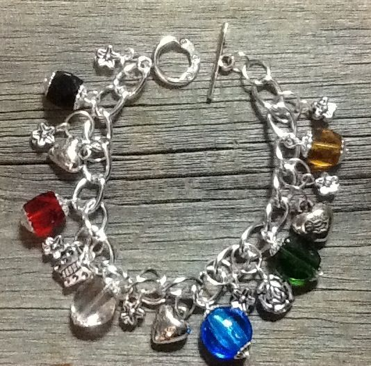 Handmade Charm Salvation Bracelet