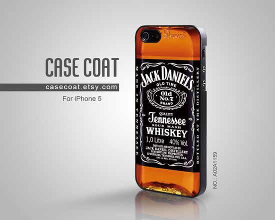 Jack Daniels iPhone 5 Case