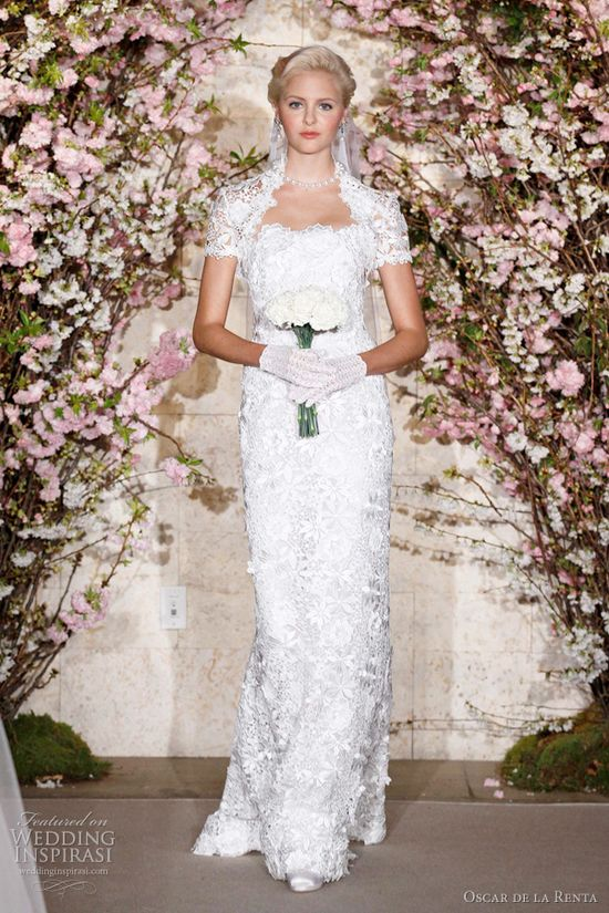 Oscar De La Renta via Wedding Inspirasi