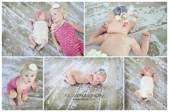 Sister love - newborn