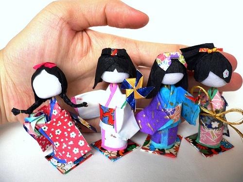 Creative Handmade Gift: 3d paper crafts
