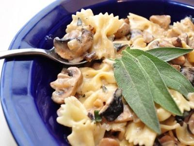 Mushroom Sage Pasta