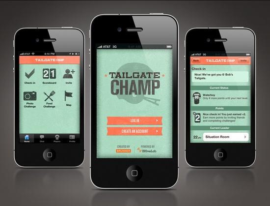 clean app design