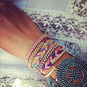 DIY friendship & beaded bracelets