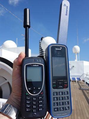 Satellite Phone!  - great for emergencies!