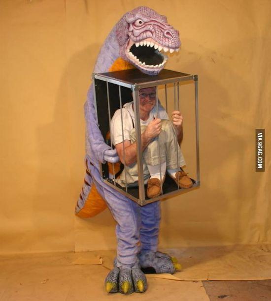My favorite dino costume!
