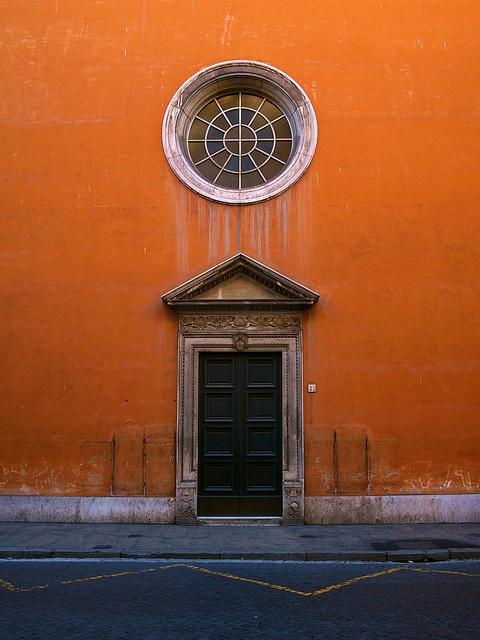 Roman Doorway, Rome, Italy