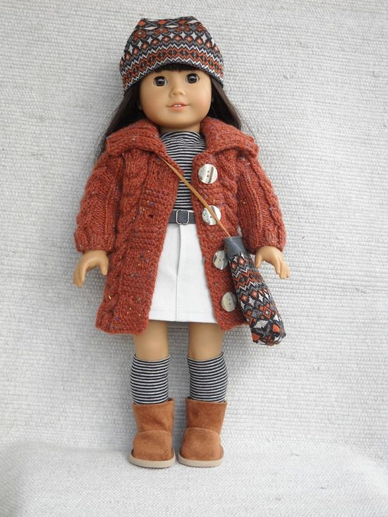 American Girl Doll Clothes - 7 piece outfit. $34.00, via Etsy.