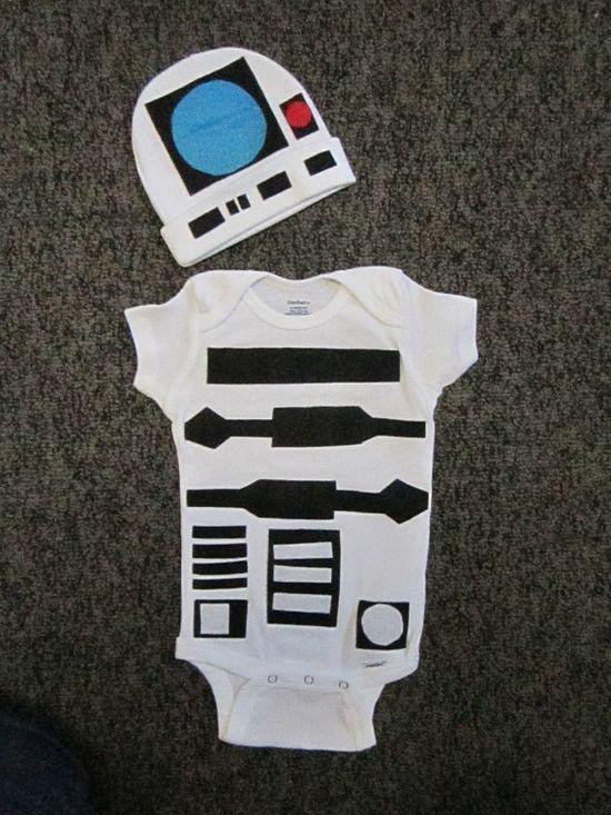 Baby Halloween Costume 12 Month Onesie Hand Made by DeltasPlace, $30.00