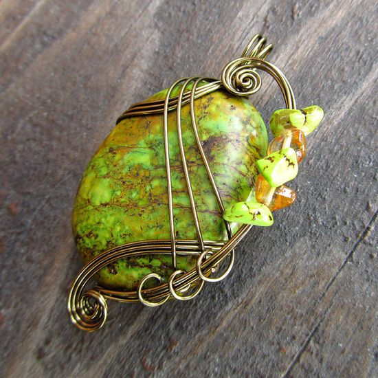 Pendant Wire Wrapping - beautiful