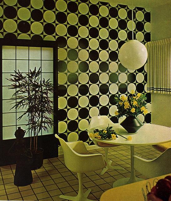 1970s decor - geometric