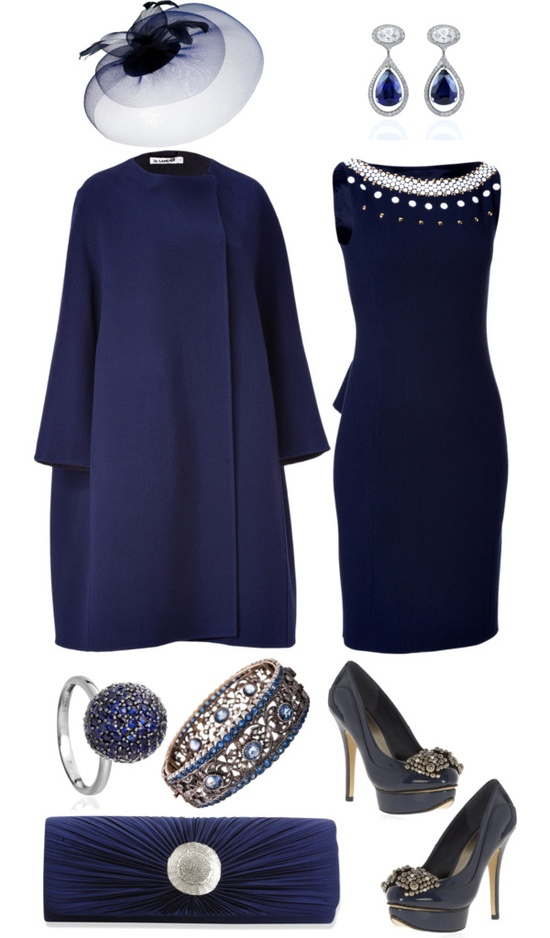 """Royal Navy"" by angela-windsor on Polyvore"