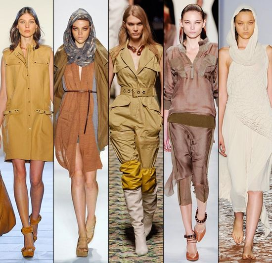 Safari Trend Fashion Tips for Summer 2013  #fashion #styletips #safaritrend