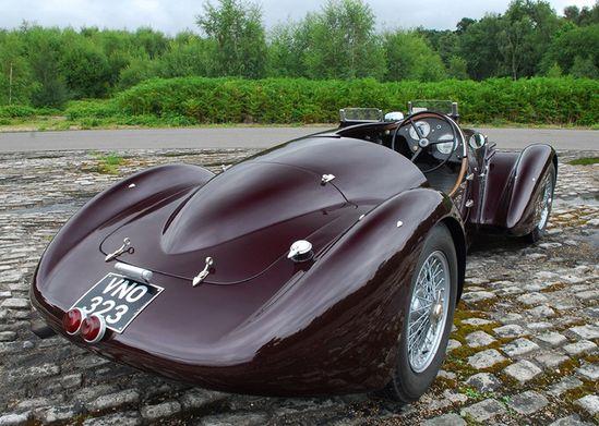 Alfa Romeo 6C 2300B Mille Miglia Spyder (1938)