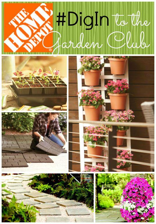 Home Depot Garden Club #digin #diginHD