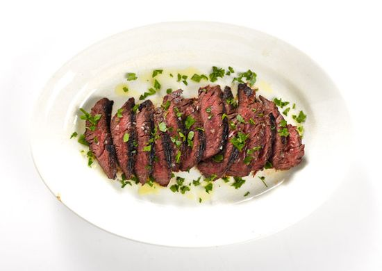 St. Anselm's Garlic Steak by bonappetit #Steak #Garlic