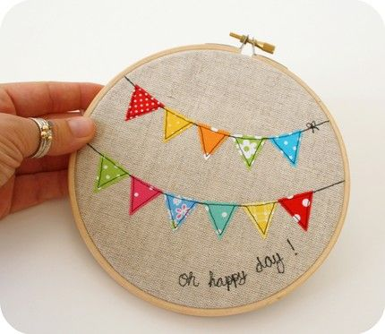Banner sewing idea!