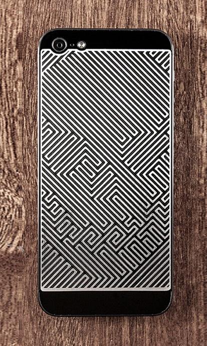 Skull Maze iPhone 5 Case