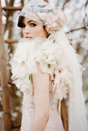 vintage 1920s wedding dress