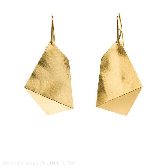 Earrings by Sarah Loertscher. #MalloryMcInnis